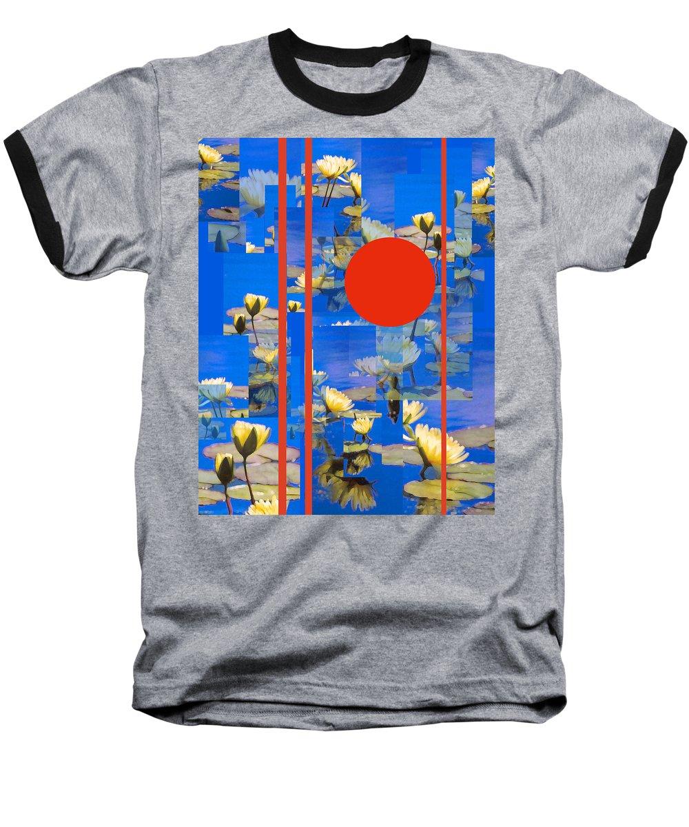 Flowers Baseball T-Shirt featuring the photograph Vertical Horizon by Steve Karol