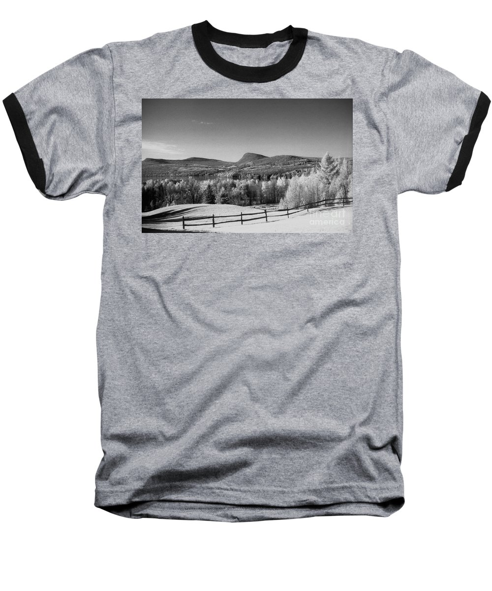 Landscape Baseball T-Shirt featuring the photograph View Of Lake Willoughby by Richard Rizzo