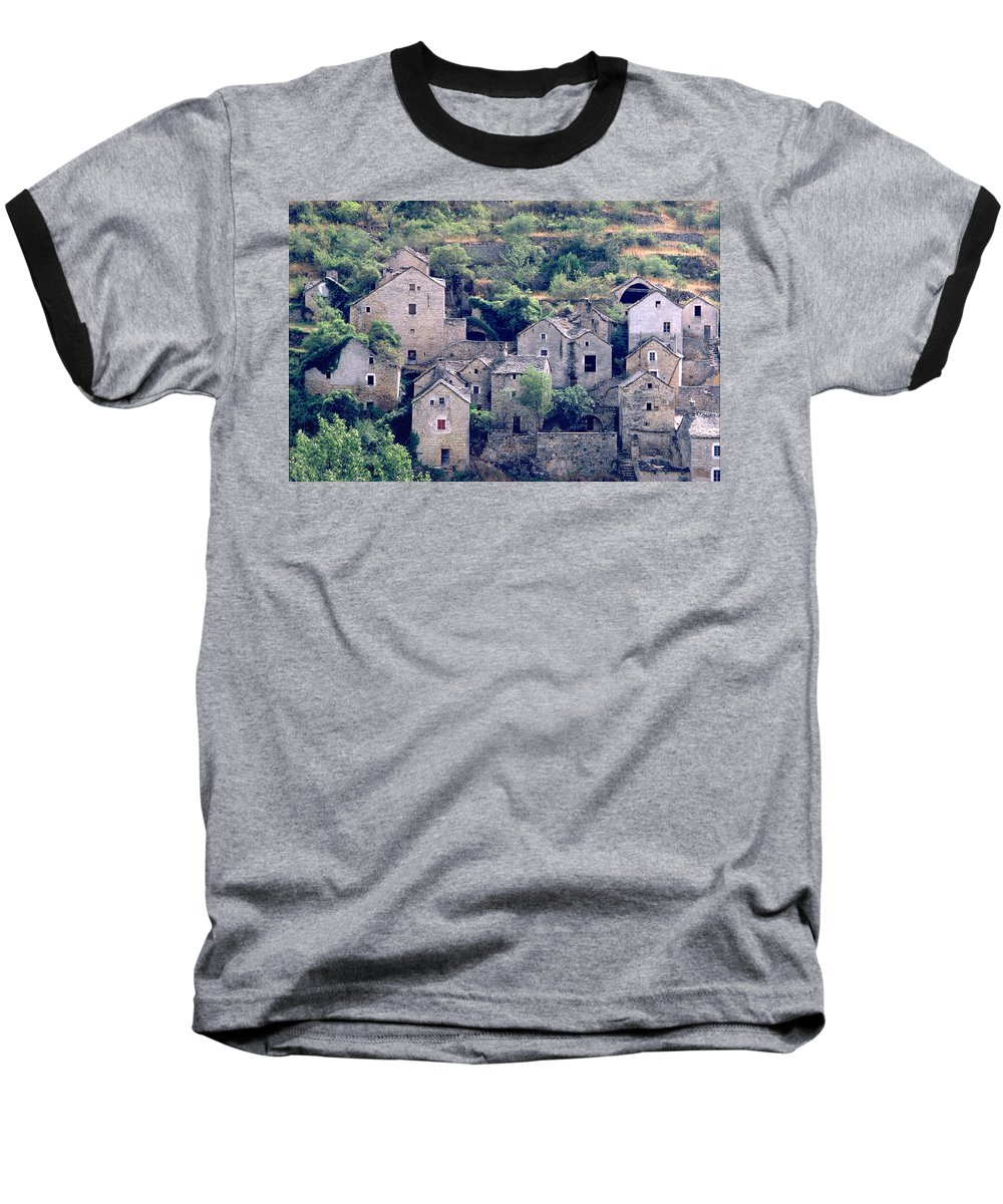 Village Baseball T-Shirt featuring the photograph Village by Flavia Westerwelle