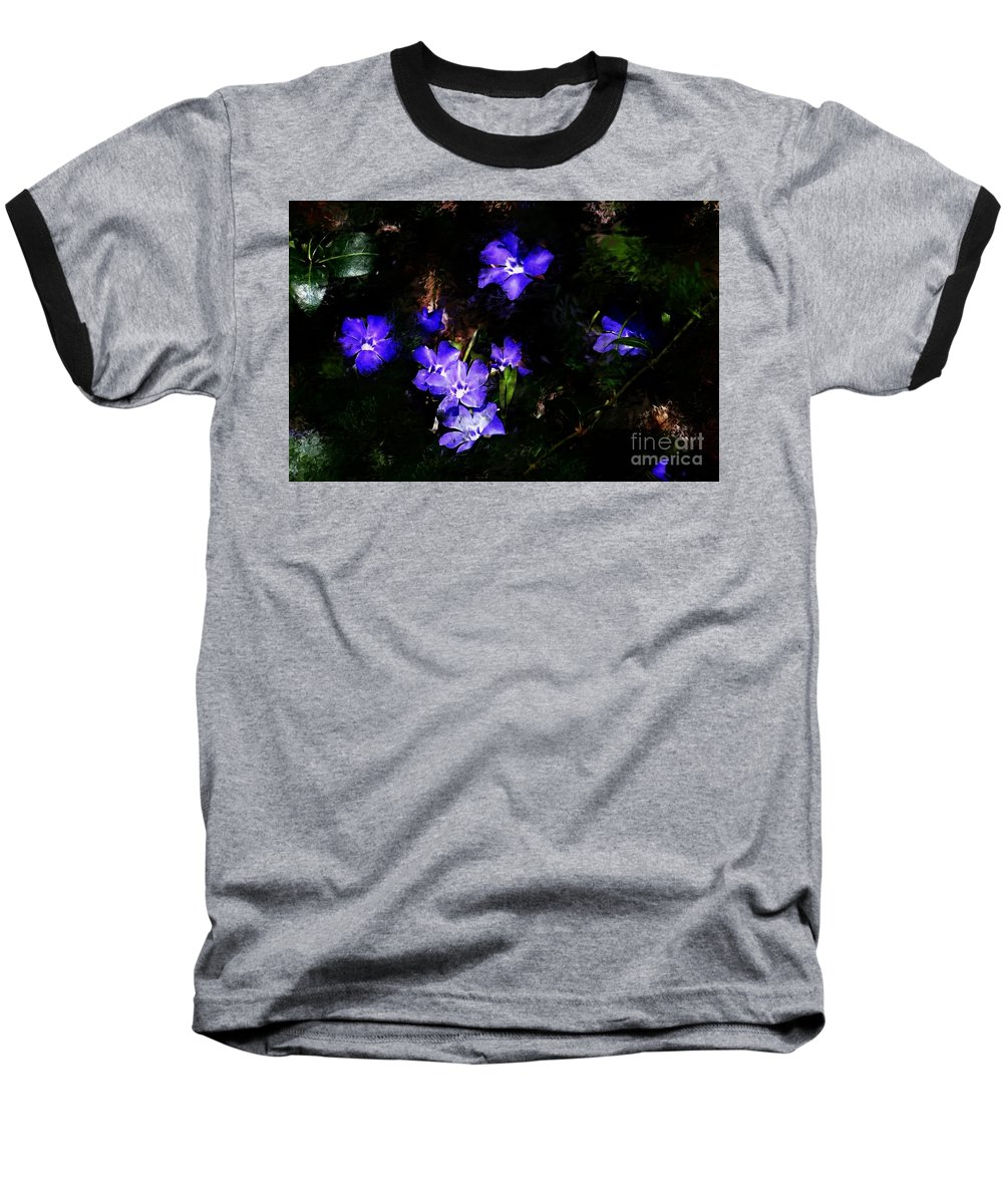 Spring Baseball T-Shirt featuring the photograph Violet by David Lane