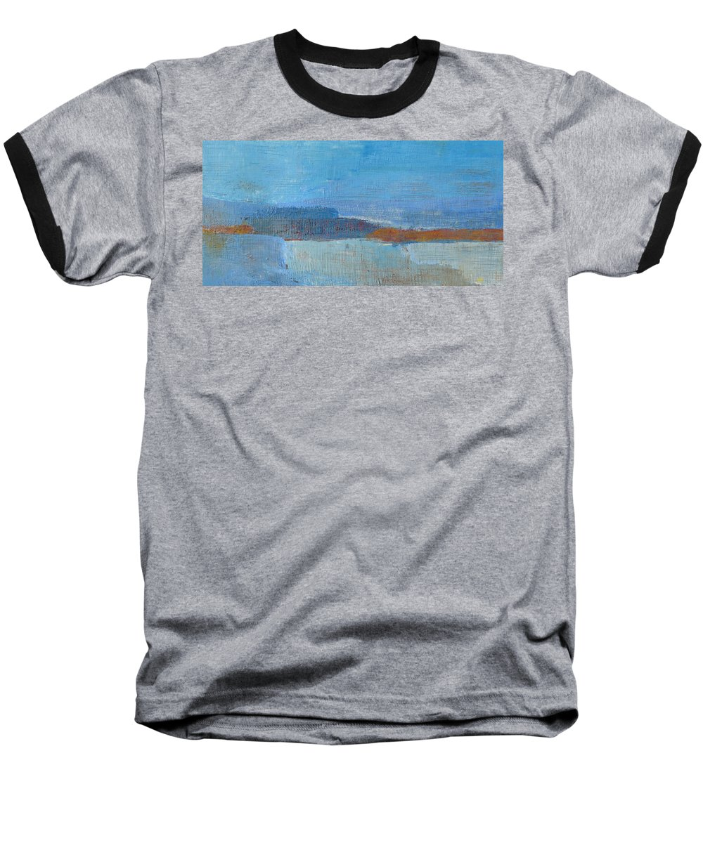 Abstract Baseball T-Shirt featuring the painting Vision by Habib Ayat