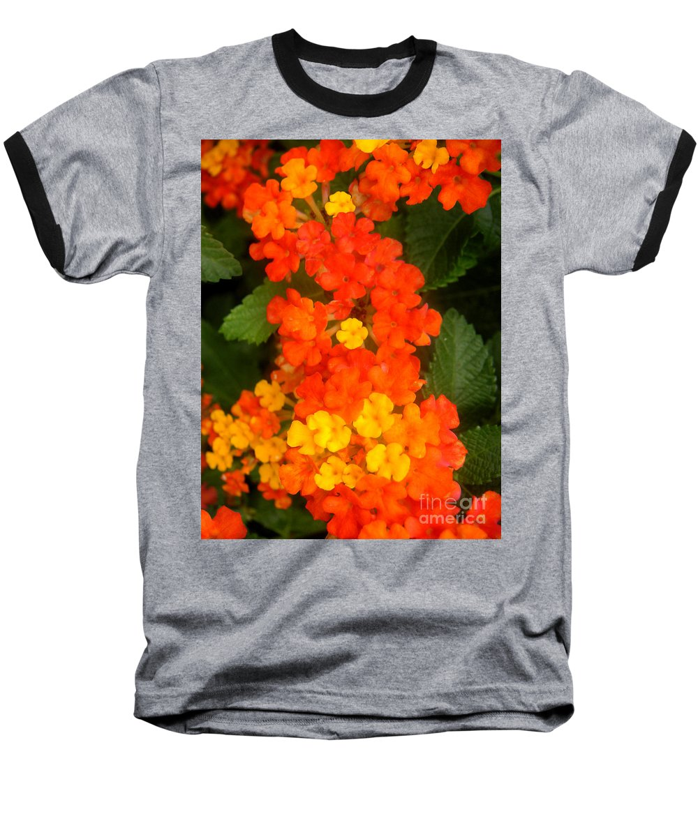 Nature Baseball T-Shirt featuring the photograph Volcanic Display by Lucyna A M Green