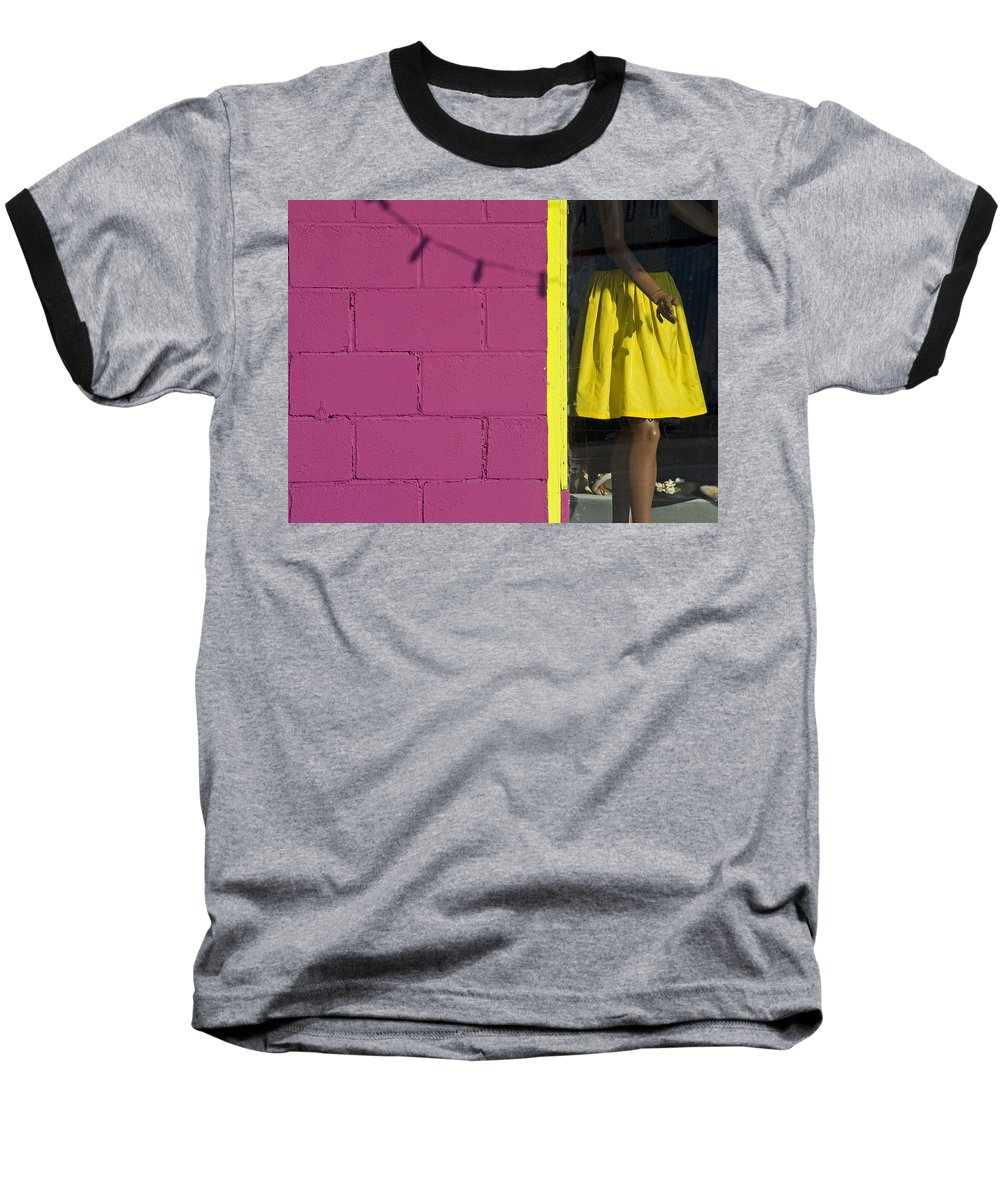 Woman Baseball T-Shirt featuring the photograph Waiting by Skip Hunt