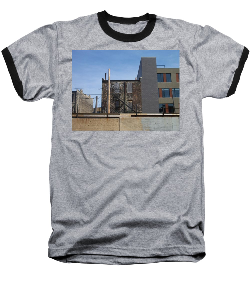 Walker's Point Baseball T-Shirt featuring the photograph Walker's Point 2 by Anita Burgermeister