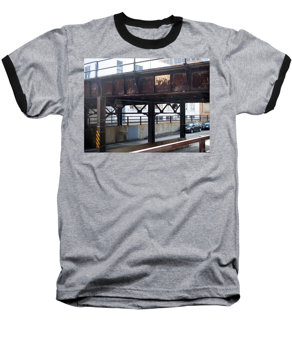 Walker's Point Baseball T-Shirt featuring the photograph Walker's Point 5 by Anita Burgermeister