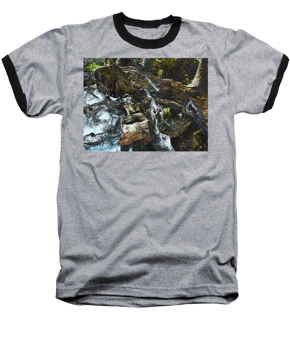 Trees Baseball T-Shirt featuring the photograph Washed Away by Kelly Jade King