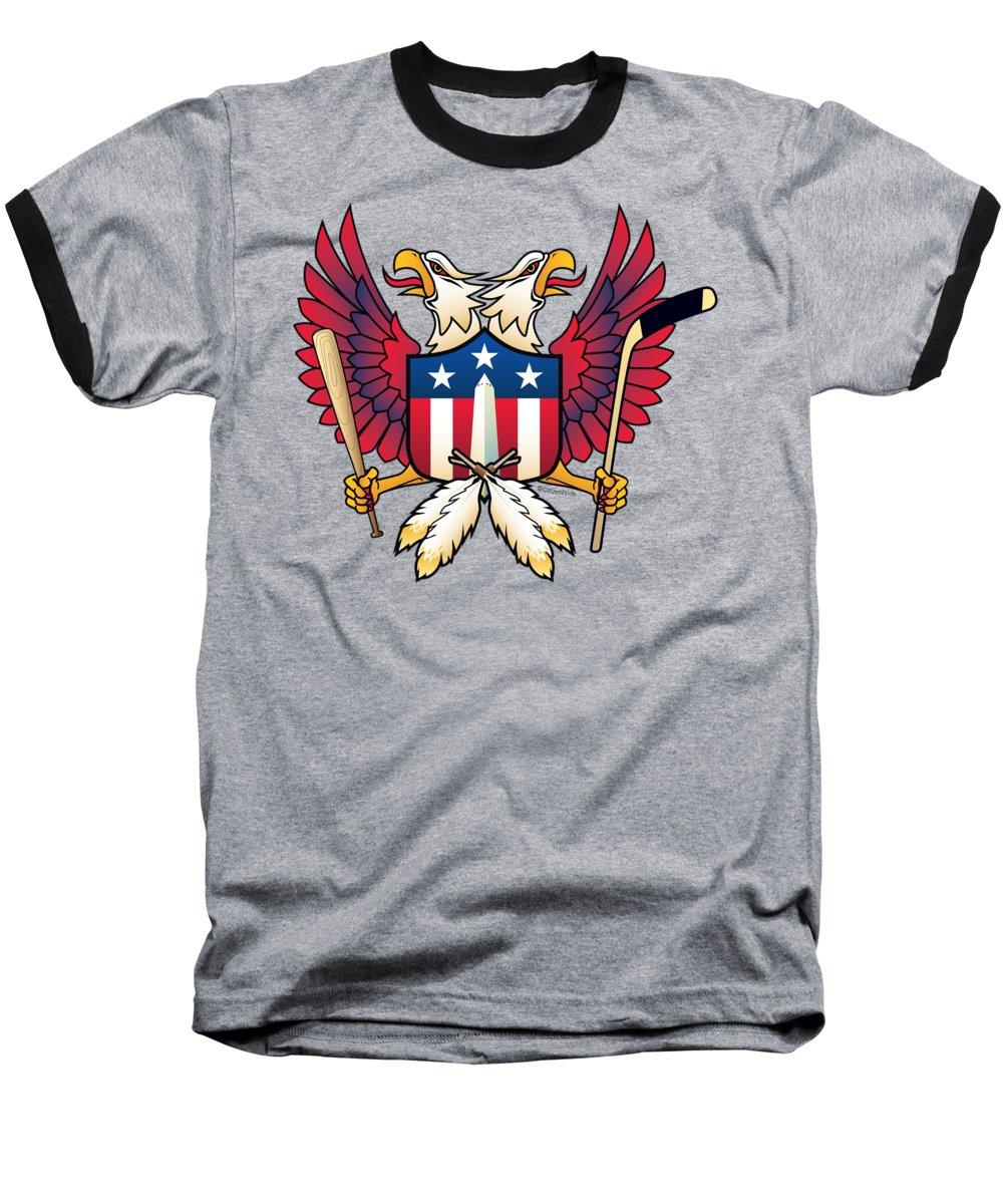 Washington Monument Baseball T-Shirts