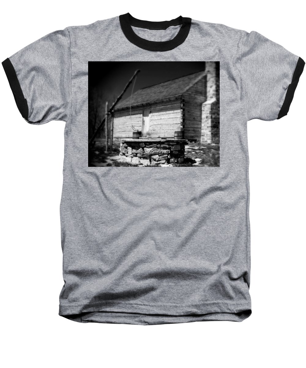 Army Baseball T-Shirt featuring the photograph Way Station French And Indian War by Jean Macaluso