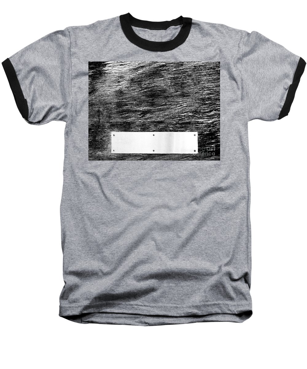 Dipasquale Baseball T-Shirt featuring the photograph Weathered by Dana DiPasquale