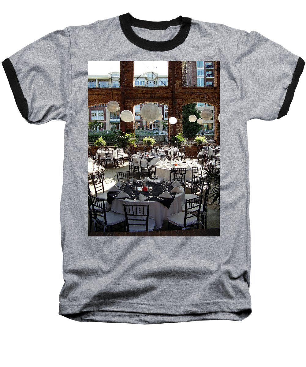 Markley Carriage Baseball T-Shirt featuring the photograph Wedding by Flavia Westerwelle