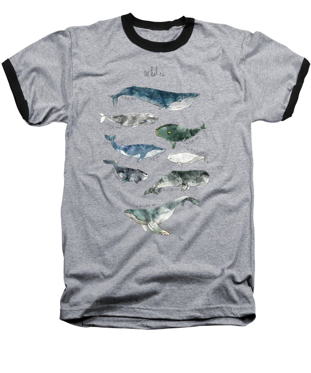 Seascape Baseball T-Shirts