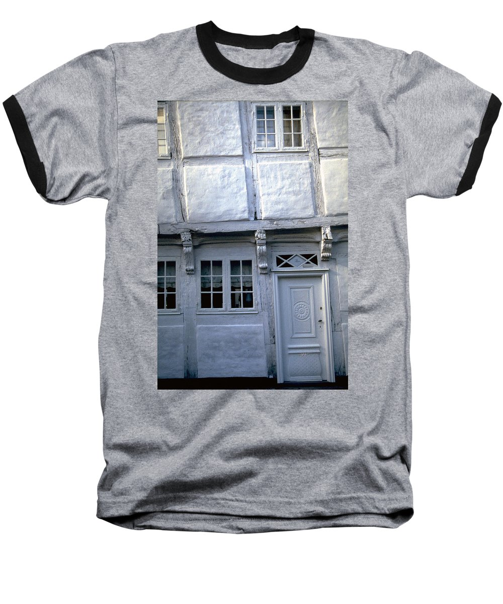 White House Baseball T-Shirt featuring the photograph White House by Flavia Westerwelle