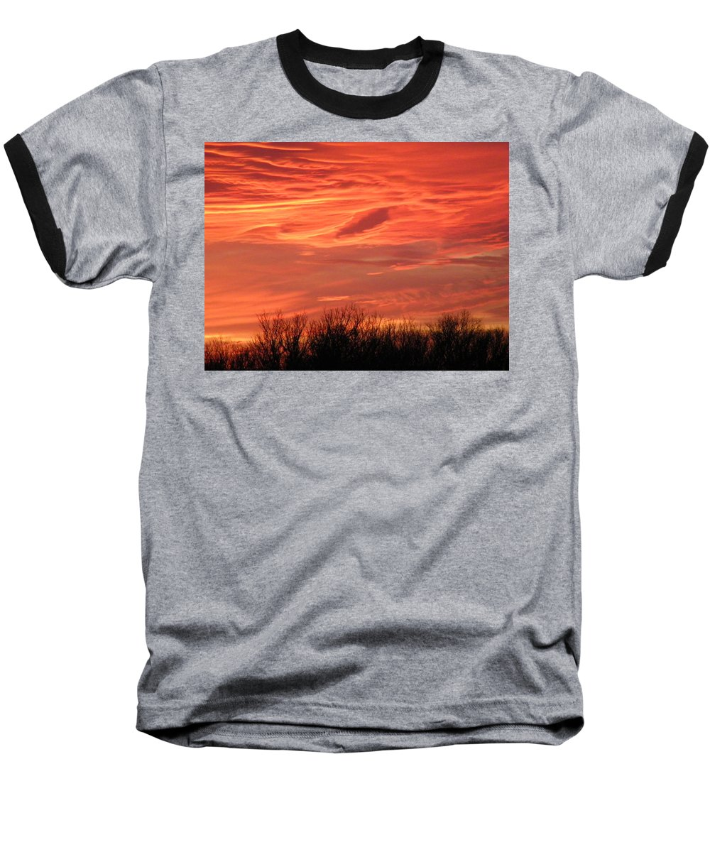 Sunset Baseball T-Shirt featuring the photograph Who Needs Jupiter by Gale Cochran-Smith