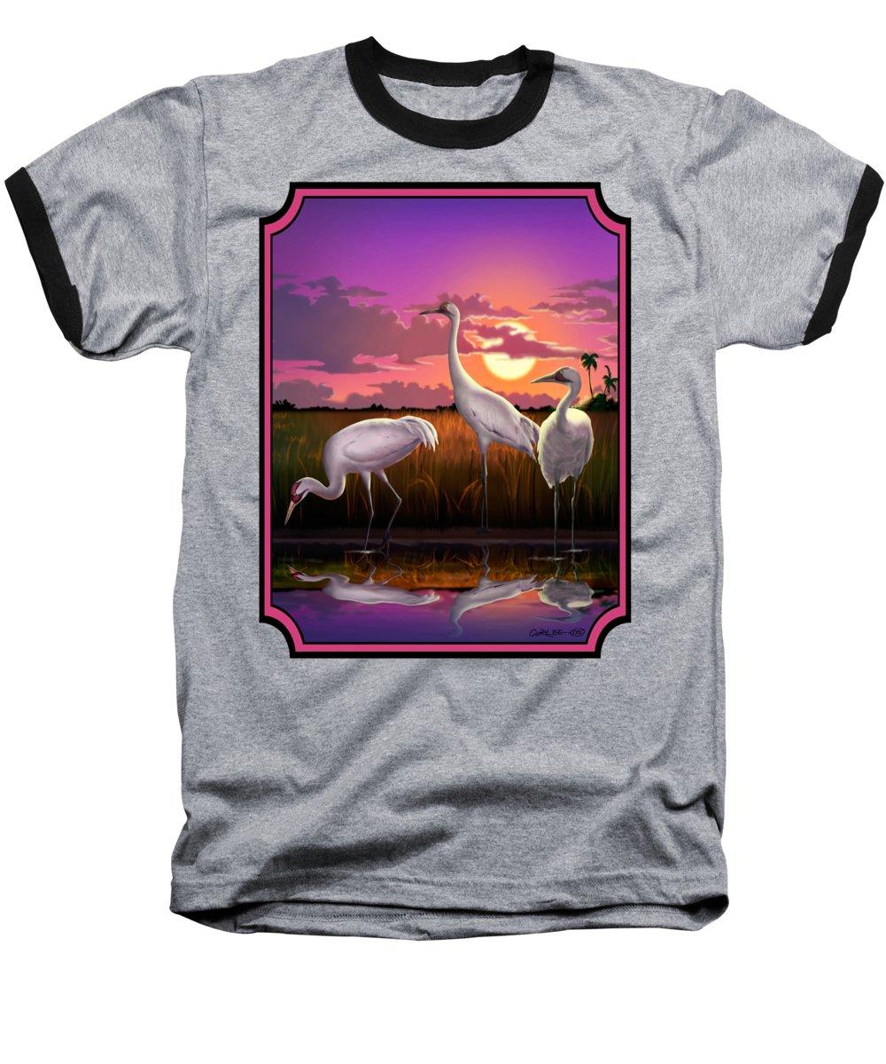 Crane Baseball T-Shirts
