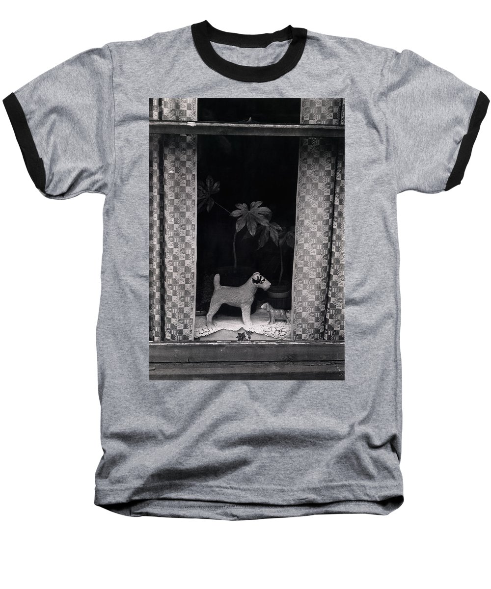 Photograph Baseball T-Shirt featuring the photograph Window Scene by Charles Stuart