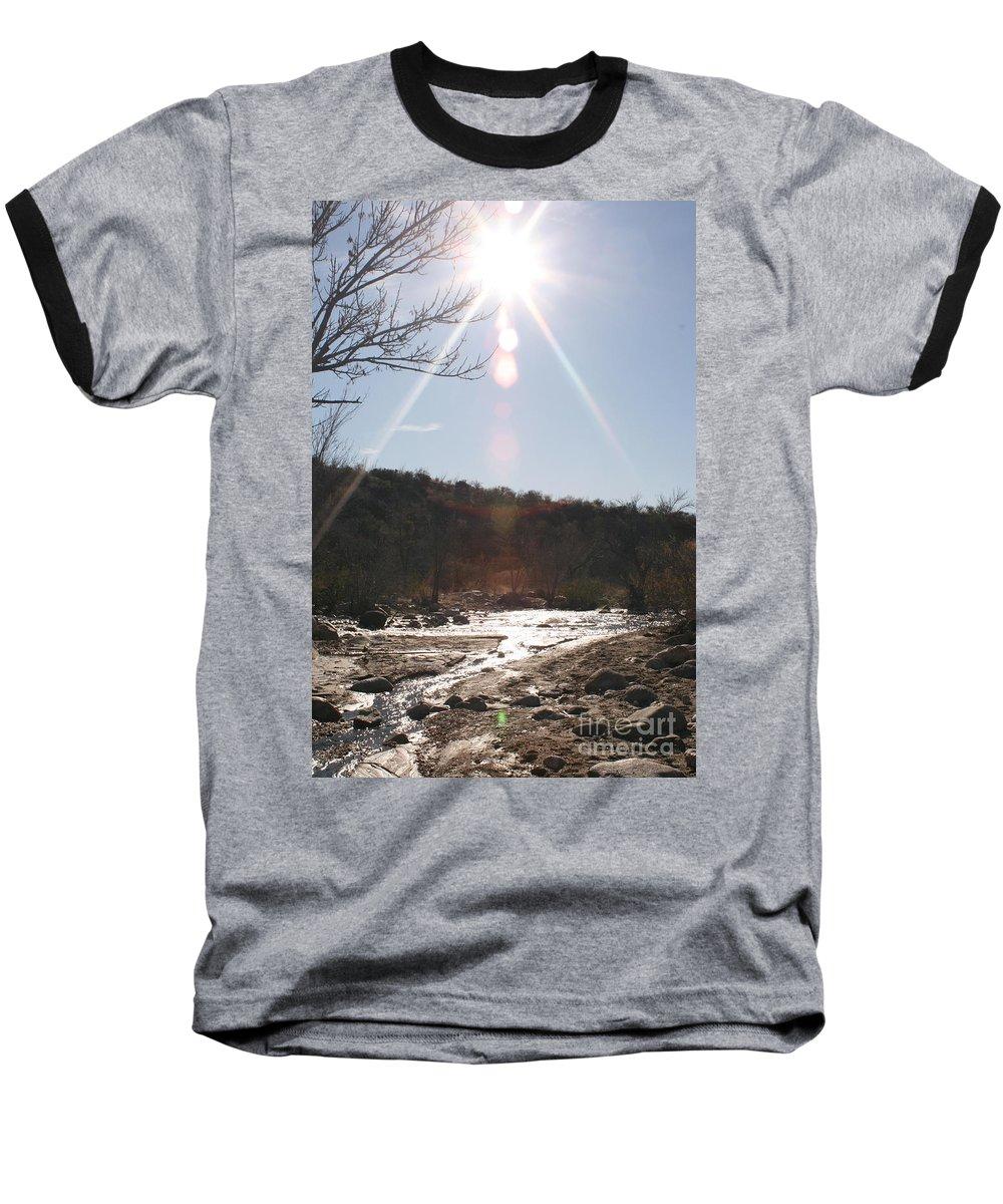 Winter Baseball T-Shirt featuring the photograph Winter Light by Nadine Rippelmeyer