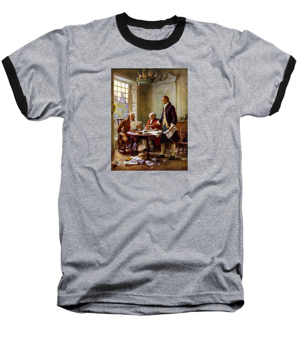 Us History Baseball T-Shirts
