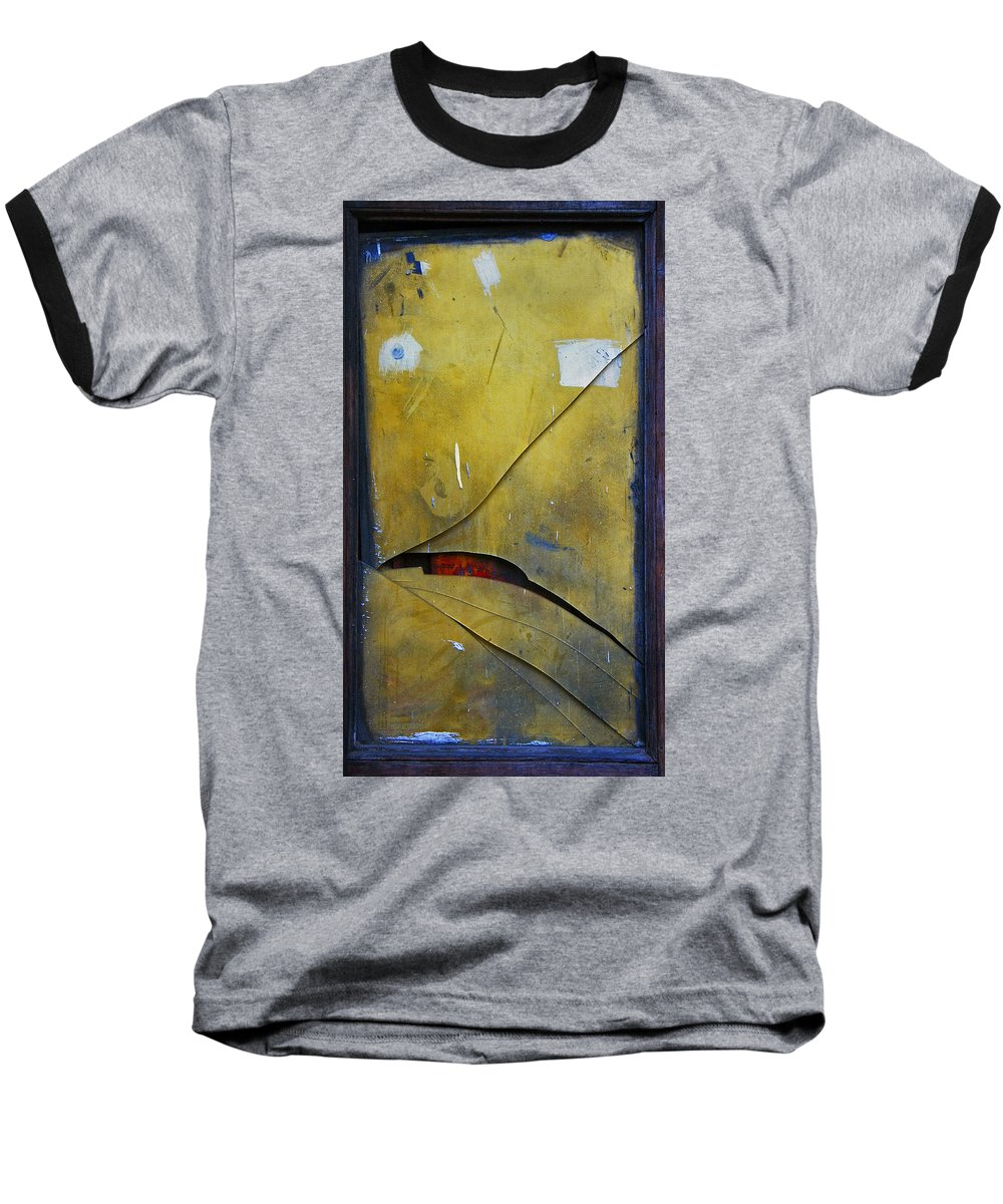 Abstract Baseball T-Shirt featuring the photograph Xalapa Miro by Skip Hunt