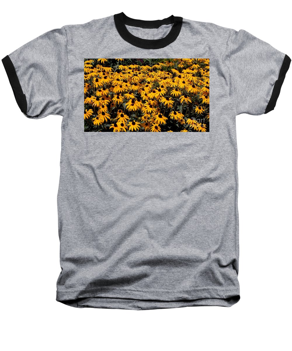 Digital Photo Baseball T-Shirt featuring the photograph Yellow Is The Color Of ..... by David Lane