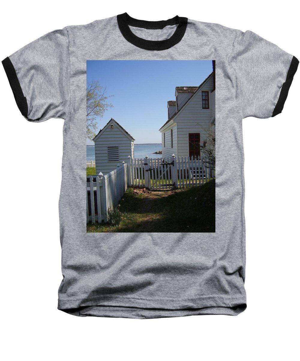 Yorktown Baseball T-Shirt featuring the photograph Yorktown by Flavia Westerwelle
