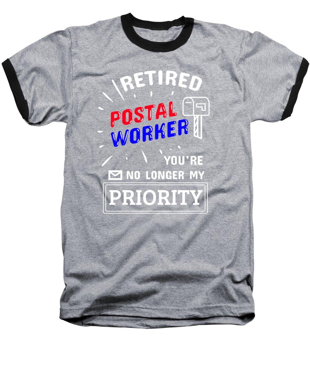 Retirement Post Office Retired Postal Worker Gift Ringer T Shirt