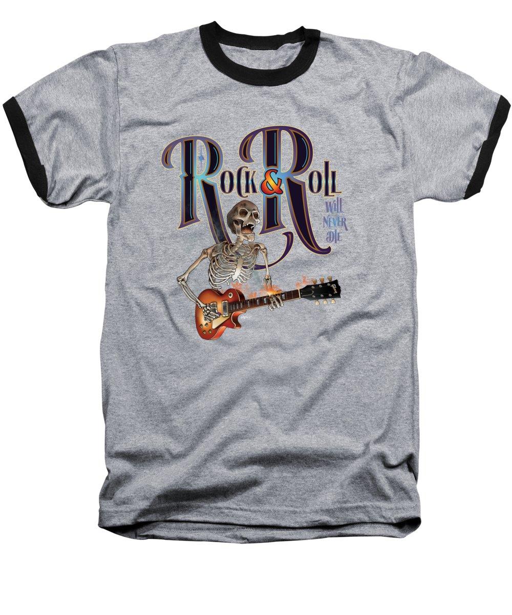 Fender Guitar Baseball T-Shirts