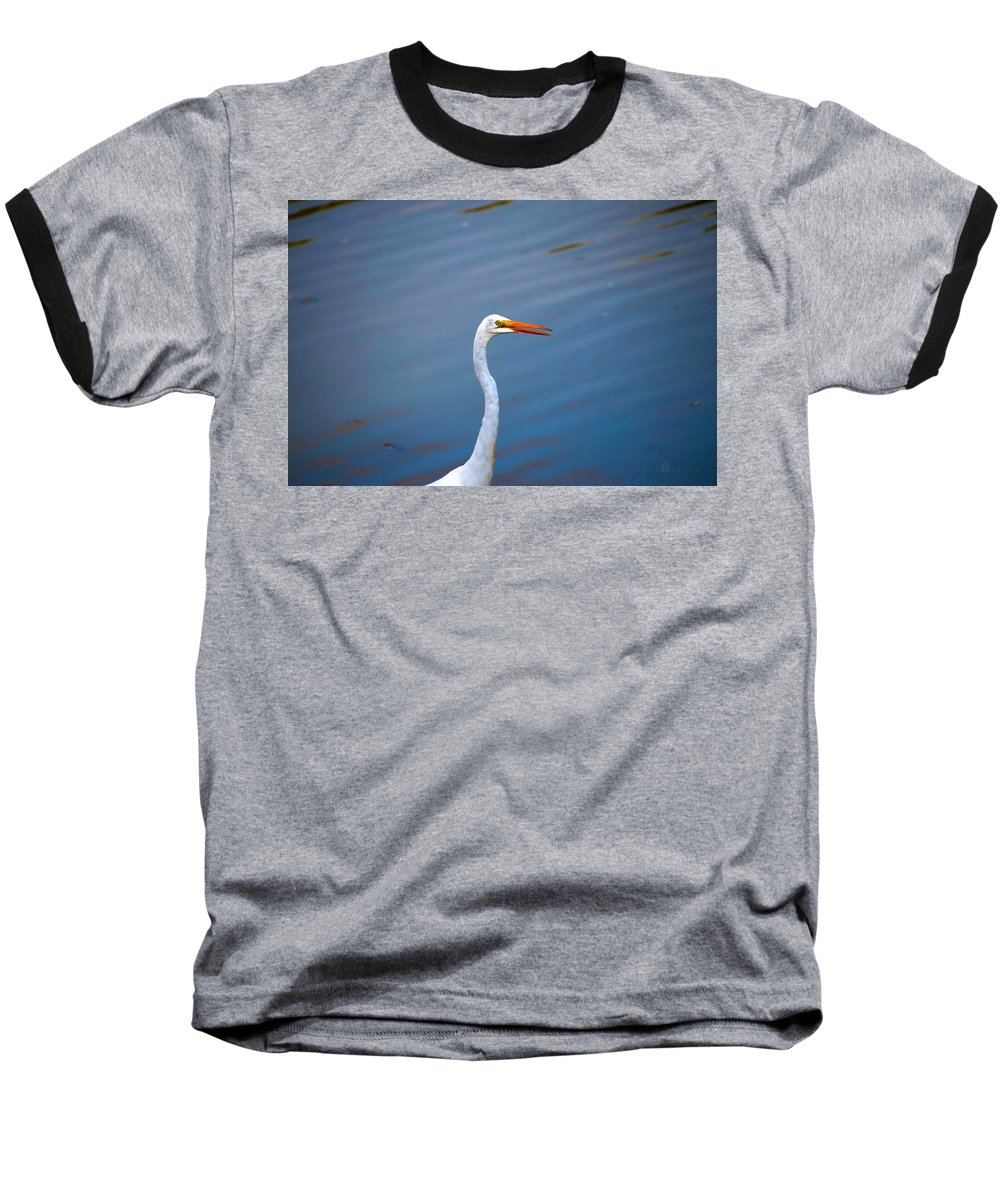 Baseball T-Shirt featuring the photograph Long Neck by Tony Umana