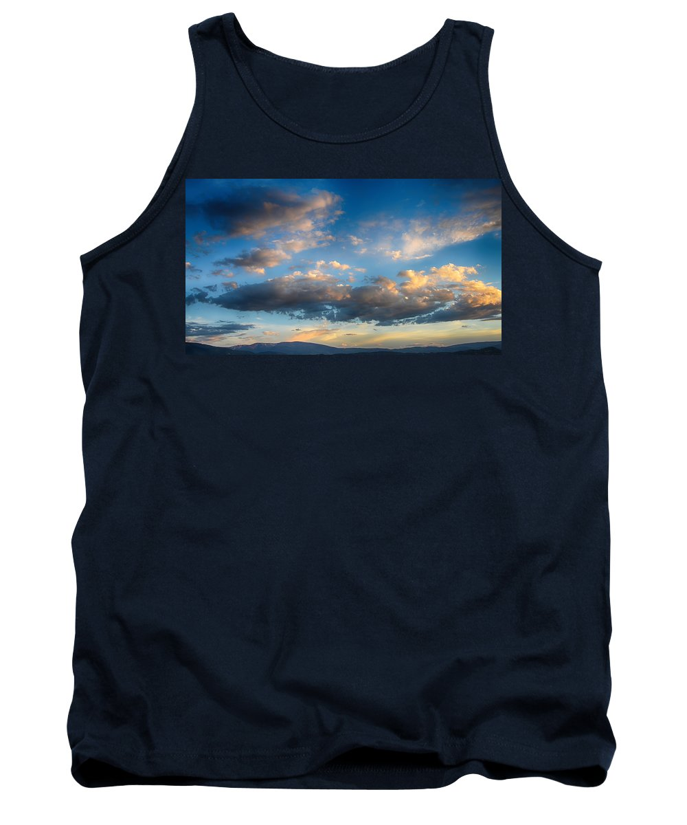 Colorado Sunset Tank Top featuring the photograph Breathtaking Colorado Sunset 2 by Angelina Vick