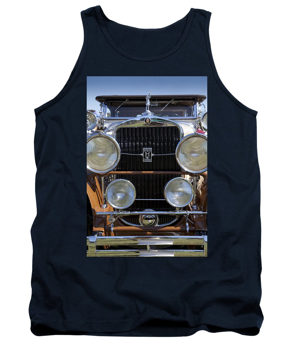 1929 Tank Top featuring the photograph 1929 Cadillac 341-b Sport Phaeton by Jack R Perry