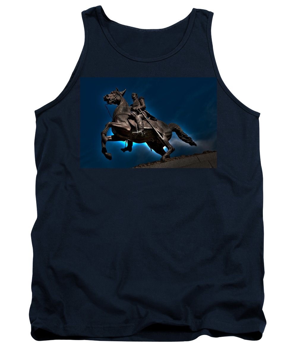 Andrew Jackson Tank Top featuring the photograph Andrew Jackson by Ron White