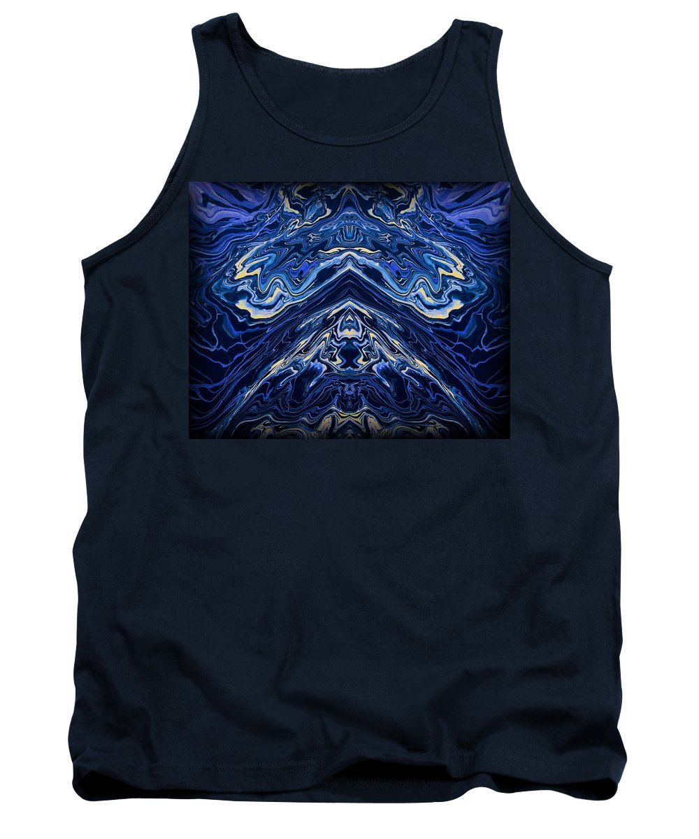 Original Tank Top featuring the painting Art Series 1 by J D Owen