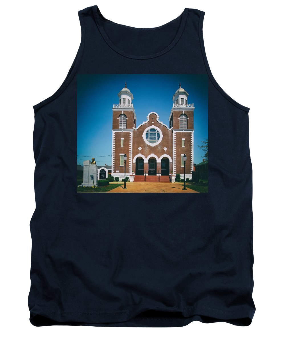 Selma Tank Top featuring the photograph Brown Chapel In Selma Alabama by Mountain Dreams