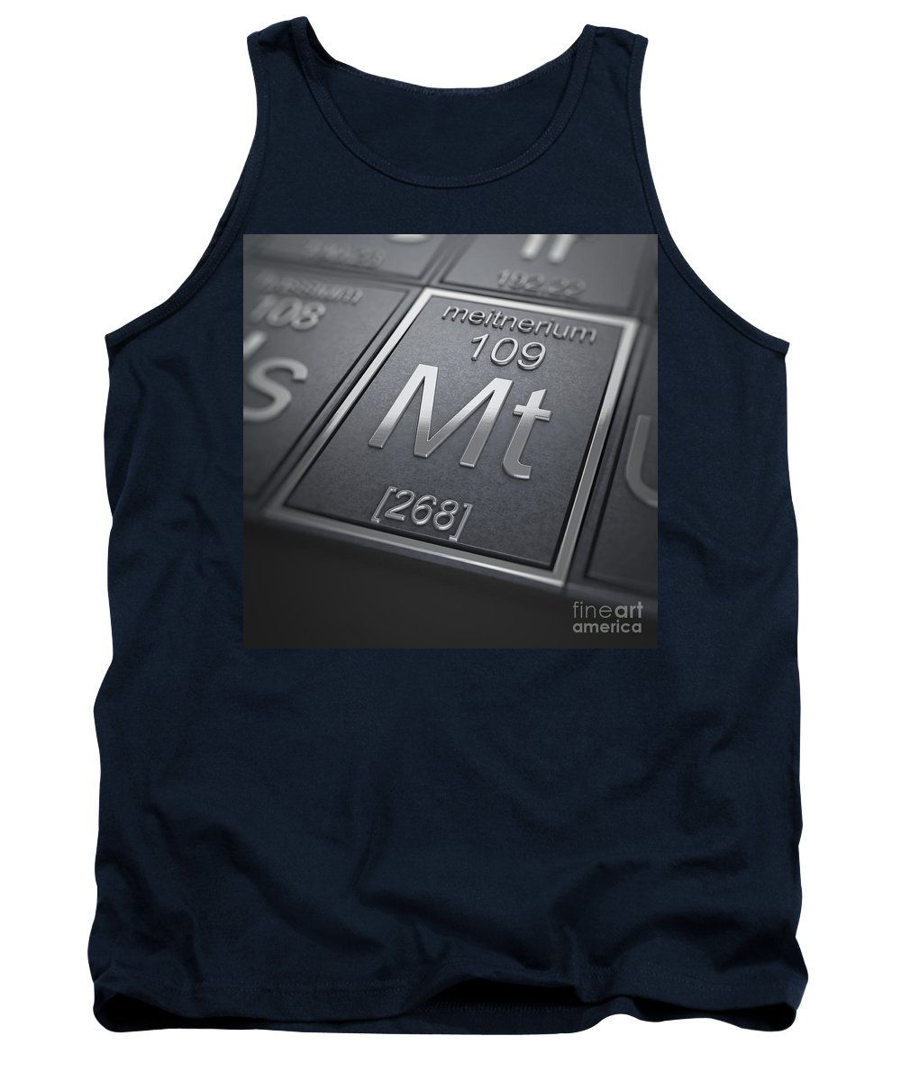 Meitnerium Tank Top featuring the photograph Meitnerium Chemical Element by Science Picture Co