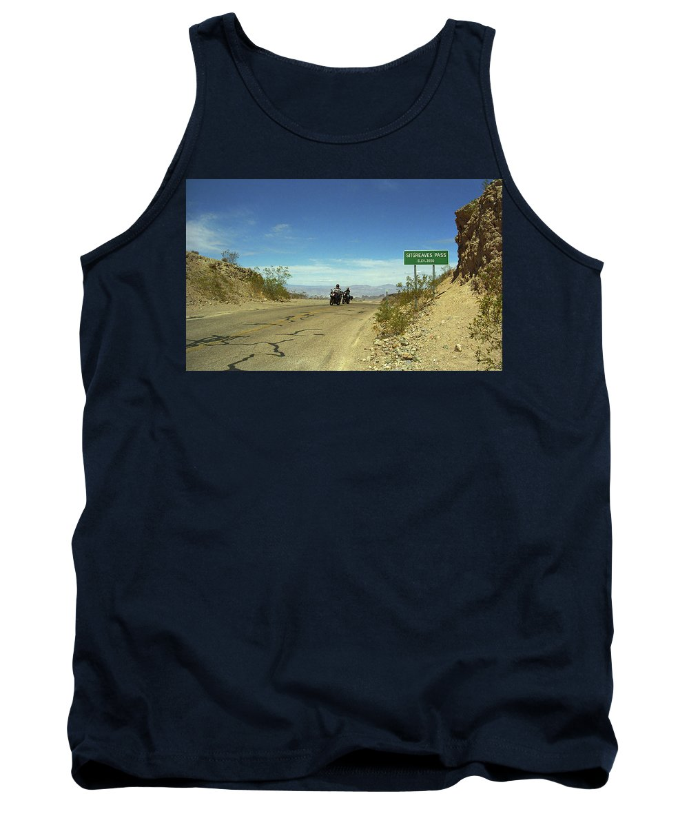 66 Tank Top featuring the photograph Route 66 - Sitgreaves Pass by Frank Romeo