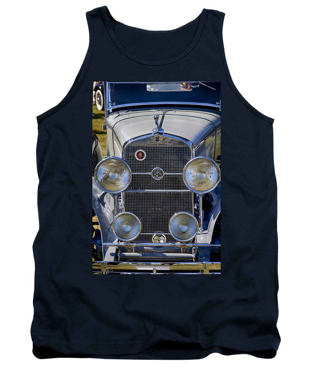 1930 Tank Top featuring the photograph 1930 Lasalle 340 by Jack R Perry