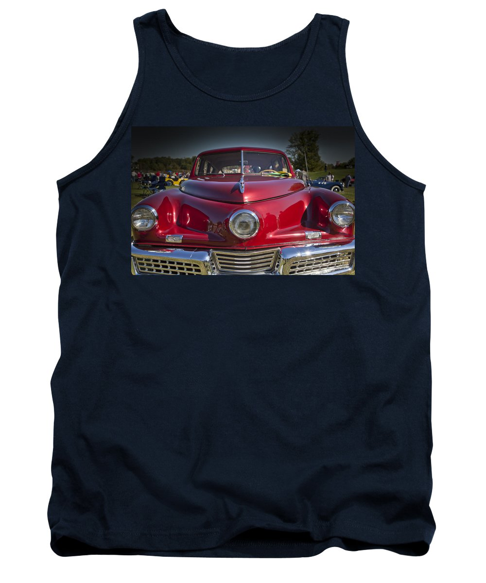 1948 Tank Top featuring the photograph 1948 Tucker by Jack R Perry
