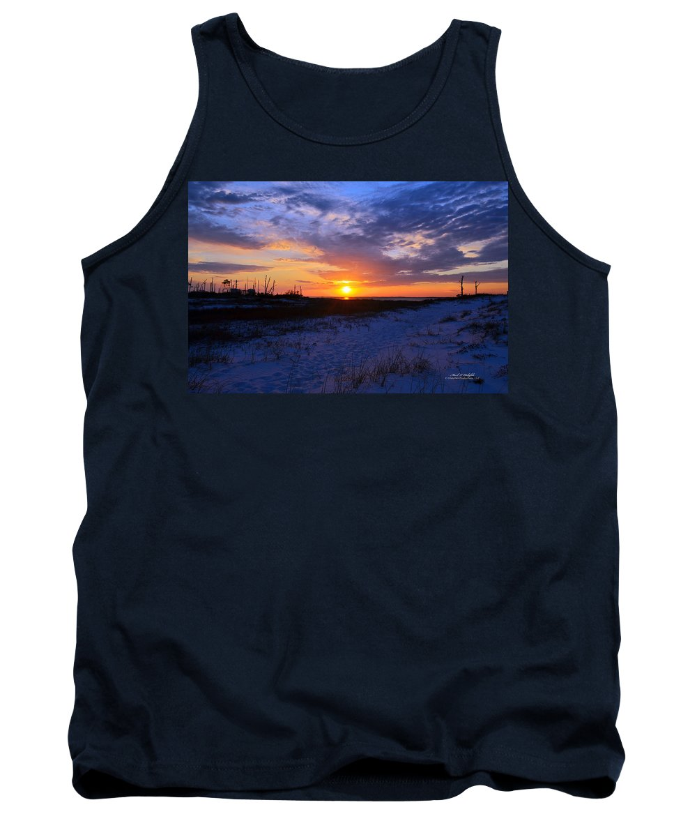 Canvas Tank Top featuring the photograph 2013 03 30 01 B by Mark Olshefski