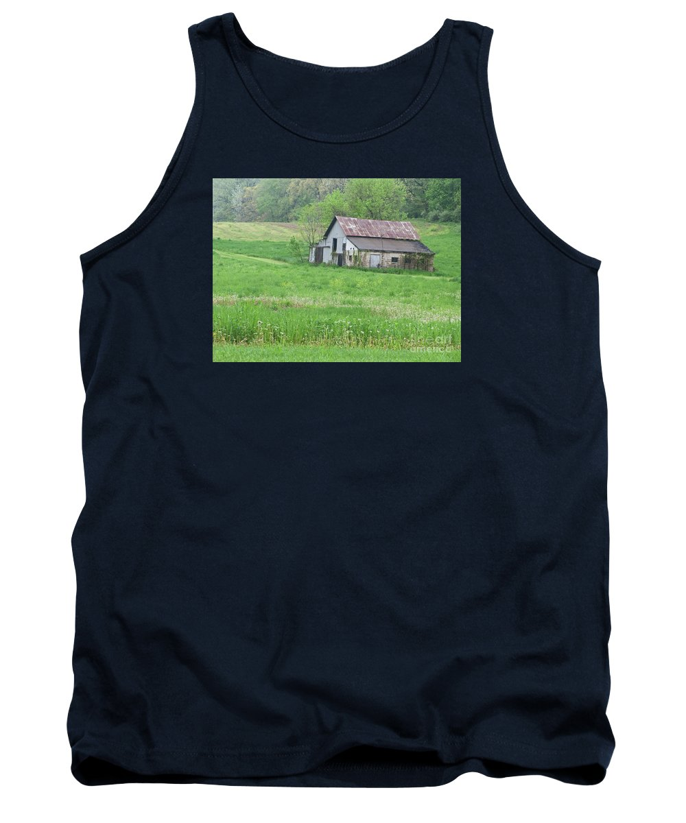 Barn Tank Top featuring the photograph Abandonment by Ann Horn