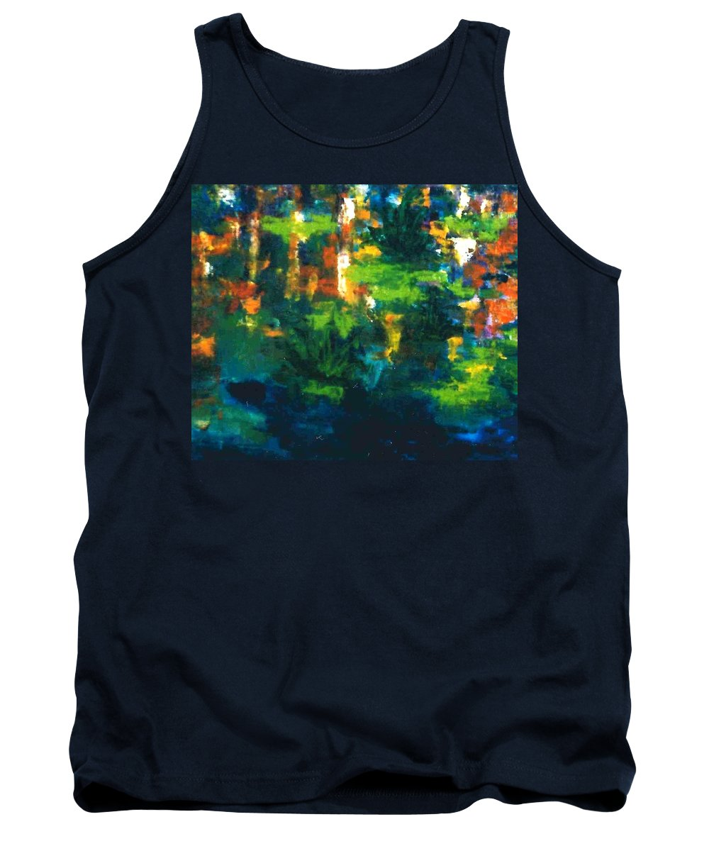 Lyle Tank Top featuring the painting Gold Fish by Lord Frederick Lyle Morris - Disabled Veteran