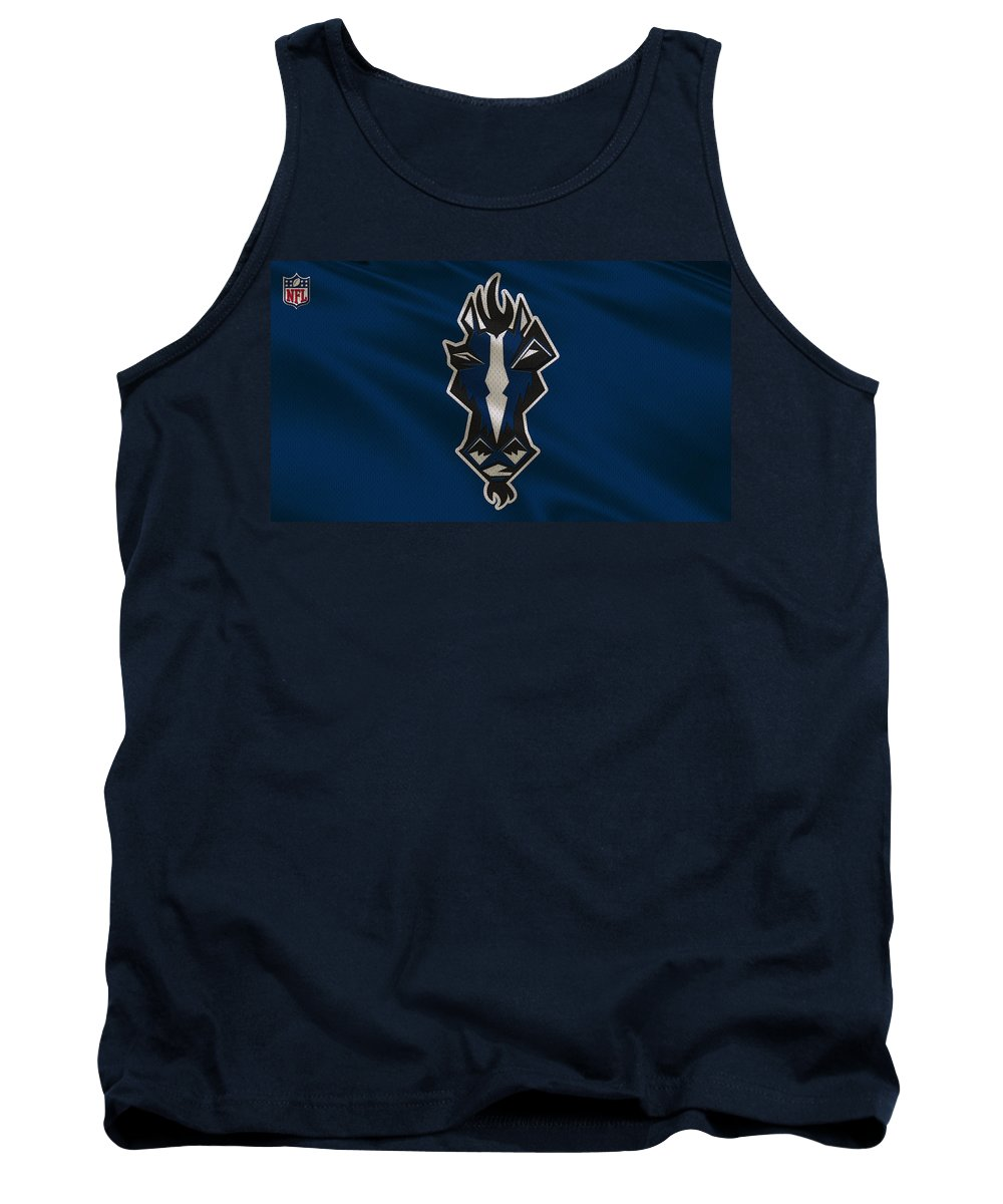 Colts Tank Top featuring the photograph Indianapolis Colts Uniform by Joe Hamilton