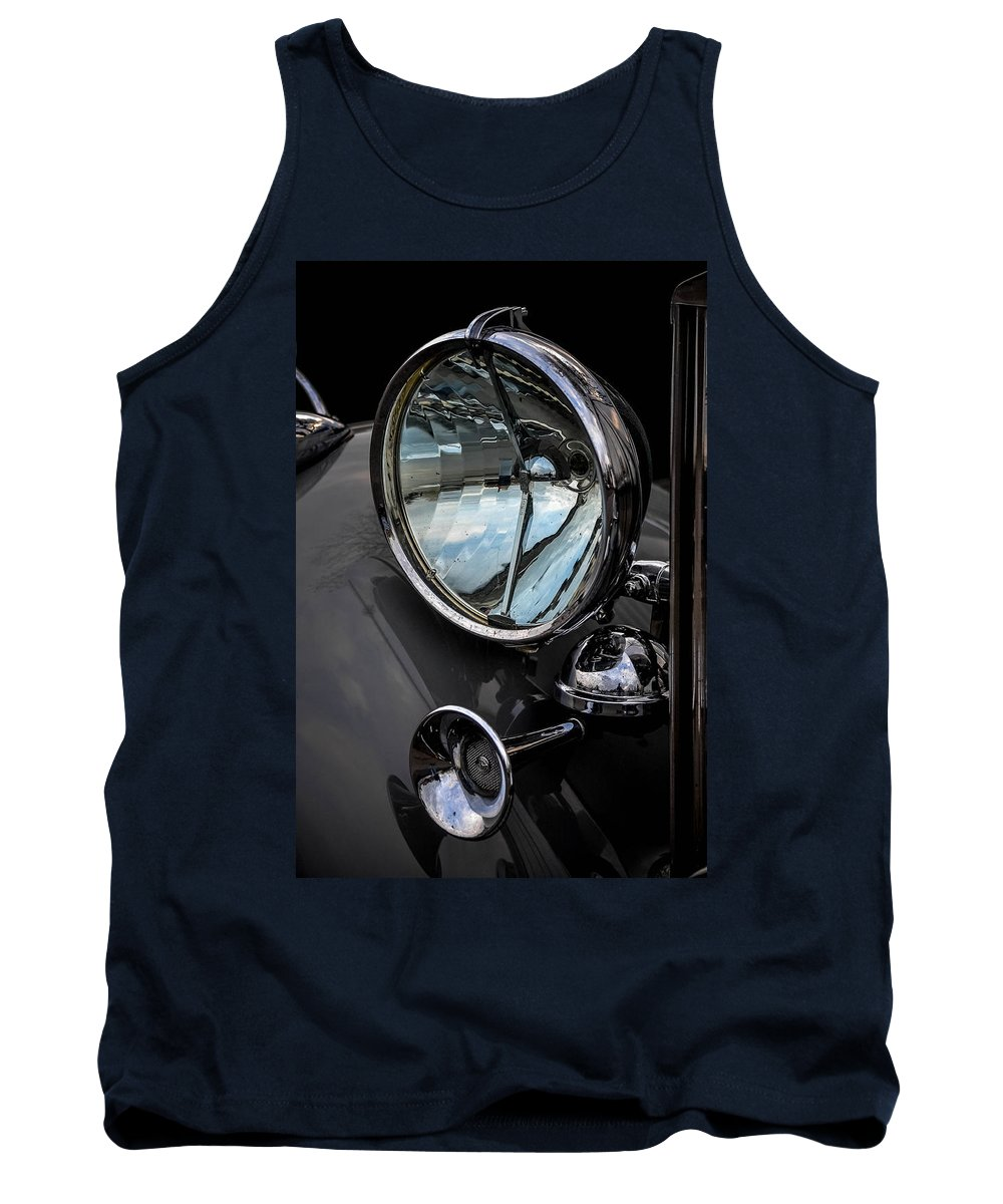 Antique Auto Tank Top featuring the photograph Antique Auto by Michael Brooks
