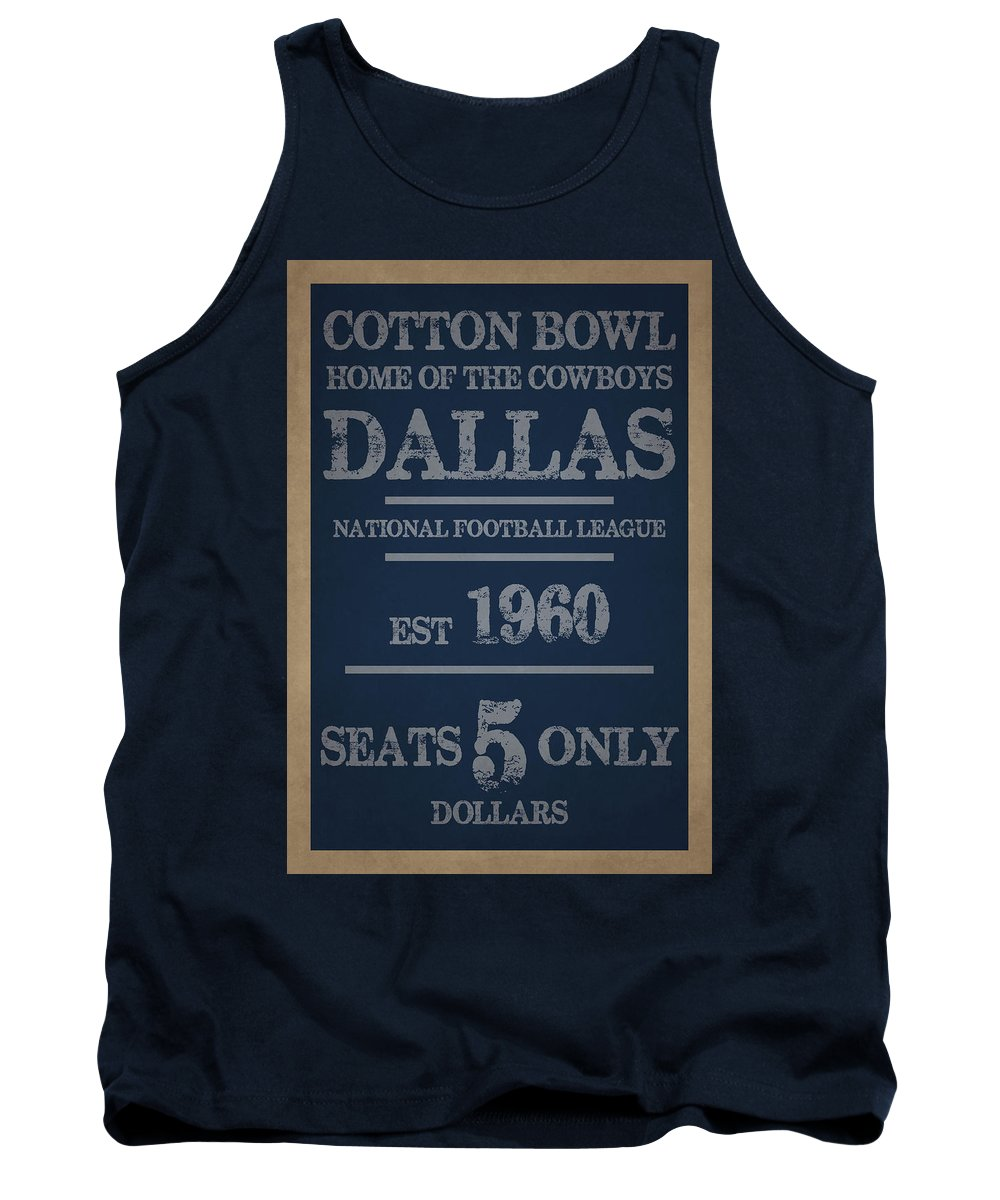 Cowboys Tank Top featuring the photograph Dallas Cowboys by Joe Hamilton