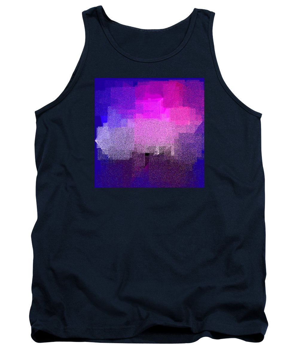 Abstract Tank Top featuring the digital art 5120.5.37 by Gareth Lewis