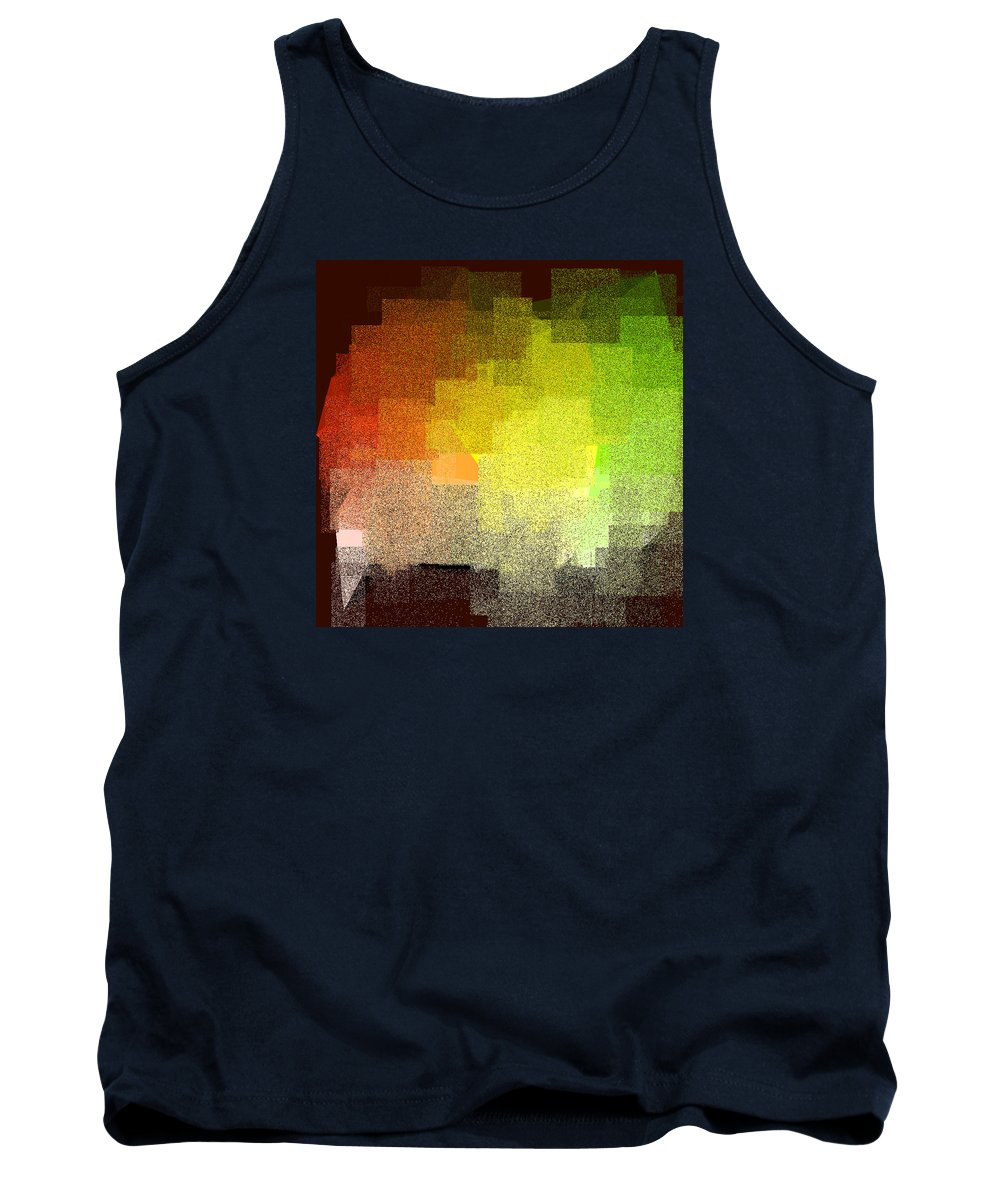 Abstract Tank Top featuring the digital art 5120.5.6 by Gareth Lewis