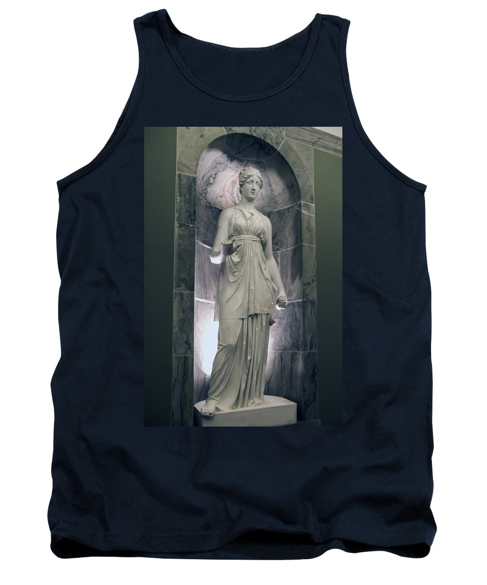 Christiansborg Palace Tank Top featuring the photograph Christiansborg Palace - Copenhagen Denmark by Jon Berghoff
