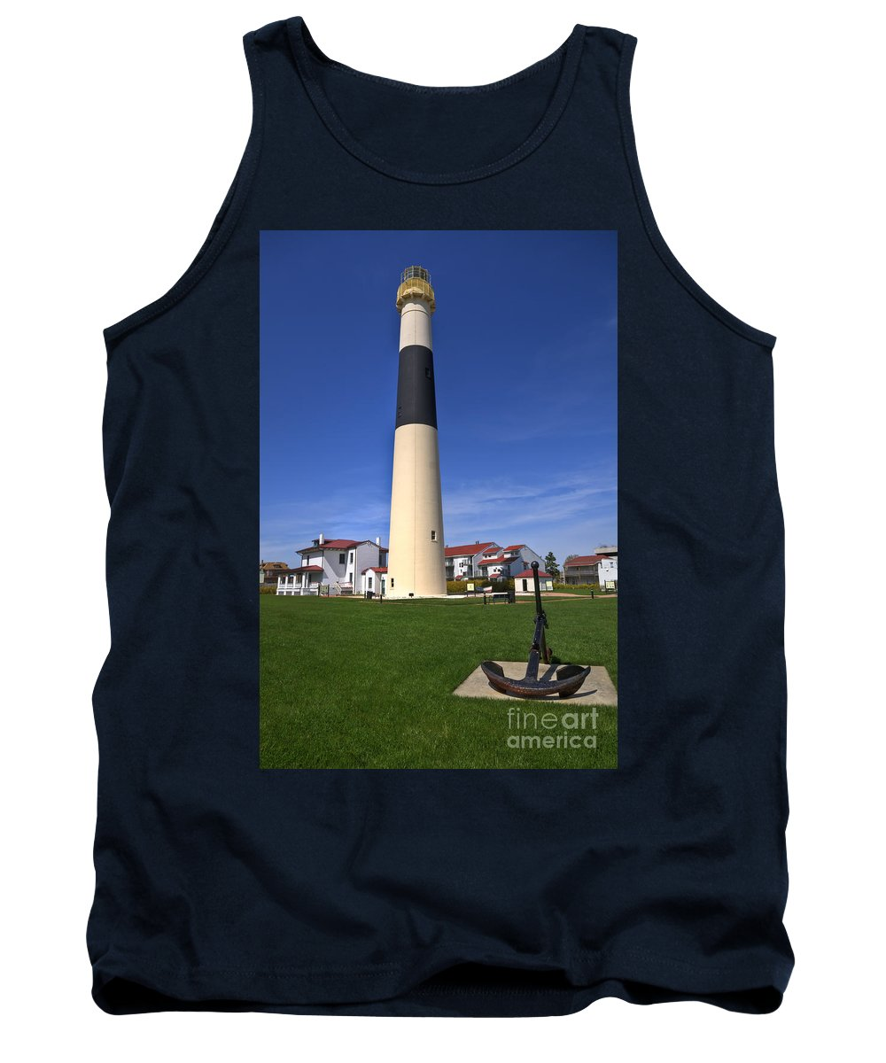 Lighthouse Tank Top featuring the photograph Absecon Lighthouse by Anthony Sacco