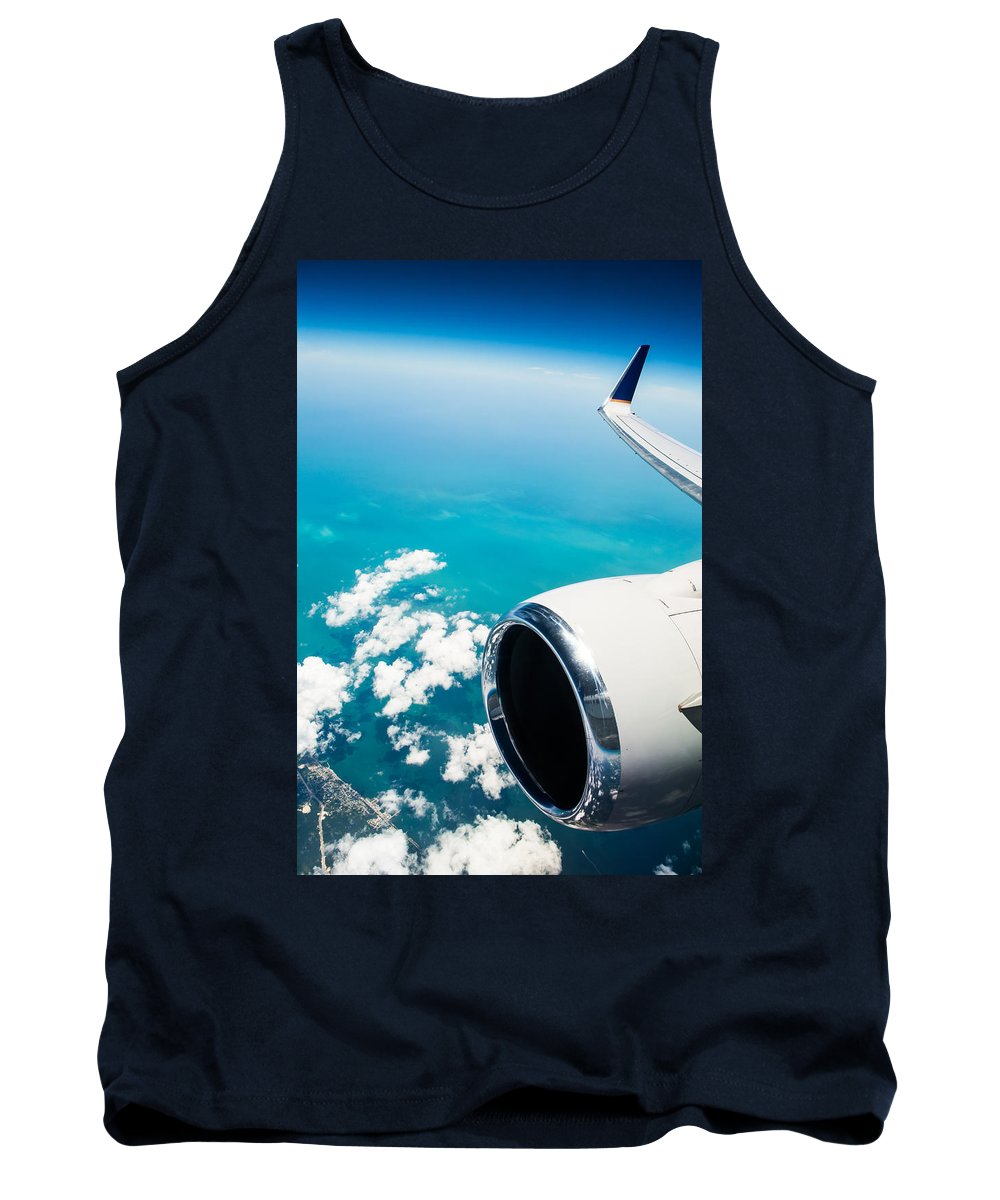 Aerial Tank Top featuring the photograph Power And Beauty by Parker Cunningham