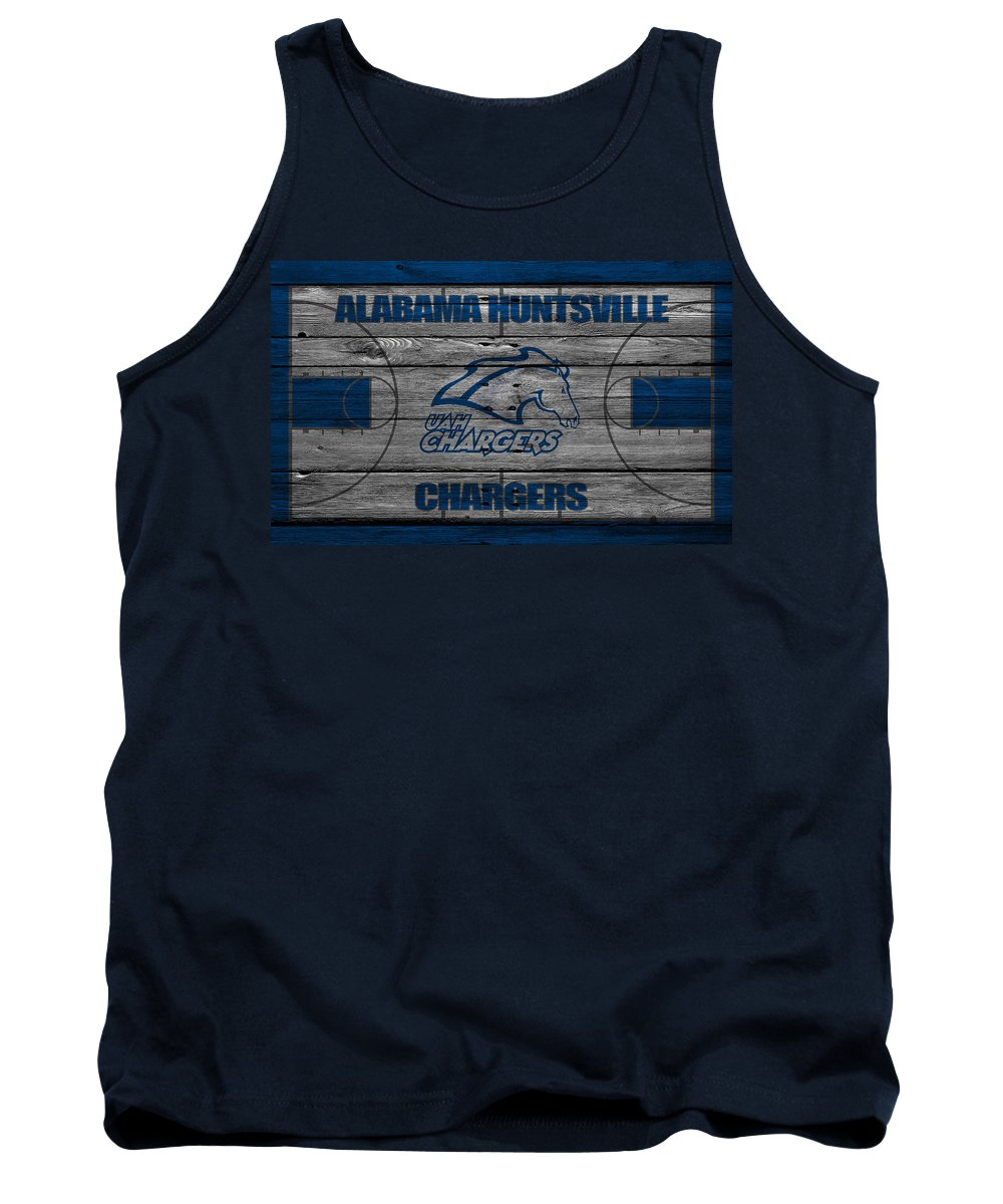 Chargers Tank Top featuring the photograph Alabama Huntsville Chargers by Joe Hamilton