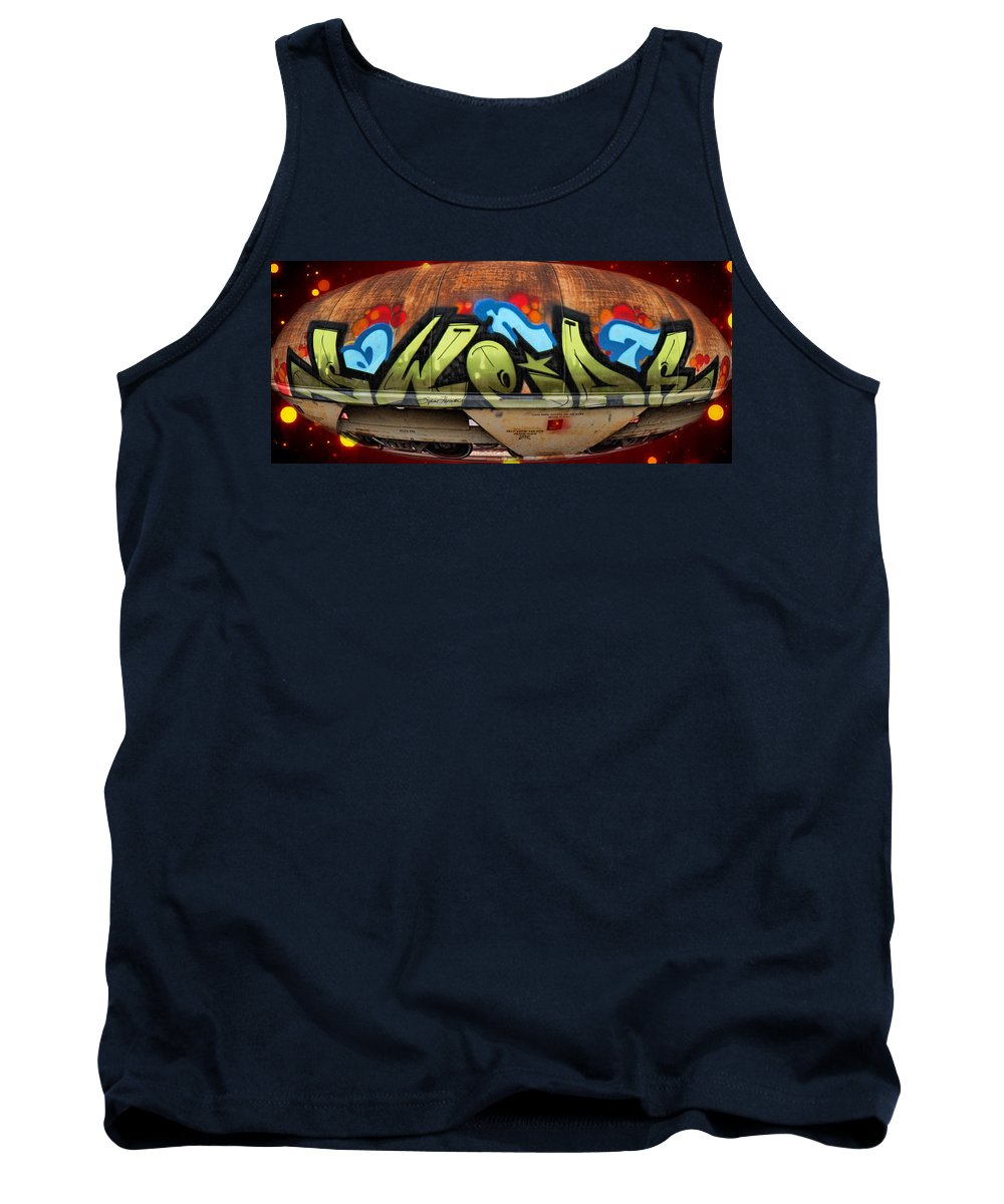 Graffiti Tank Top featuring the photograph Aliens by Sylvia Thornton