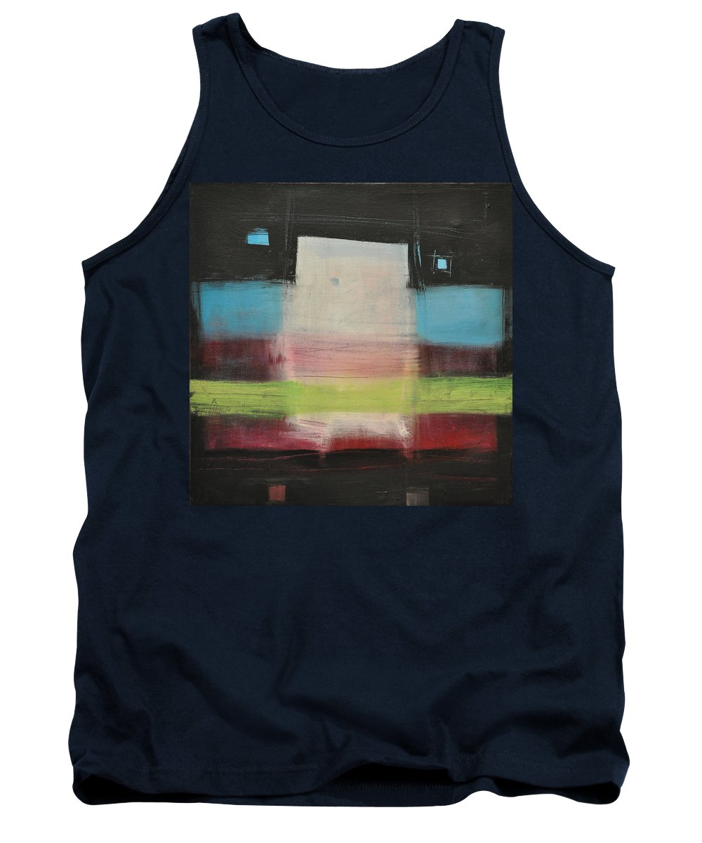 Abstract Tank Top featuring the painting Aphex Twin by Tim Nyberg
